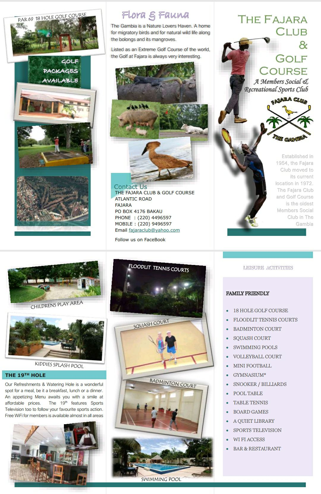 Fajara Club - The Fajara Golf Course, Hotels, Travel, Places,